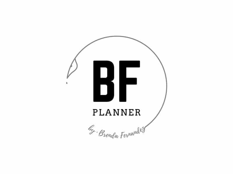 logo BF planner identidad corporativa