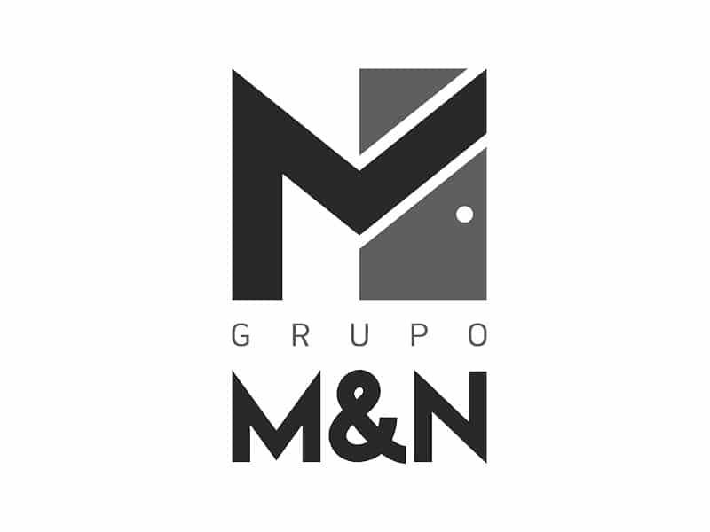 desarrollo de marca logo grupo-myn-bn